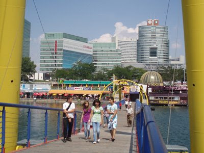 Footbridge over the Danube