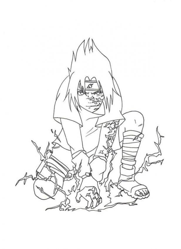 Pic Of Naruto Uzumaki Coloring Pages