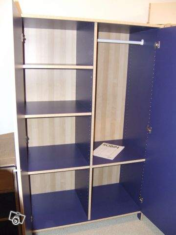 an de mil donne armoire ikea bleu. Black Bedroom Furniture Sets. Home Design Ideas