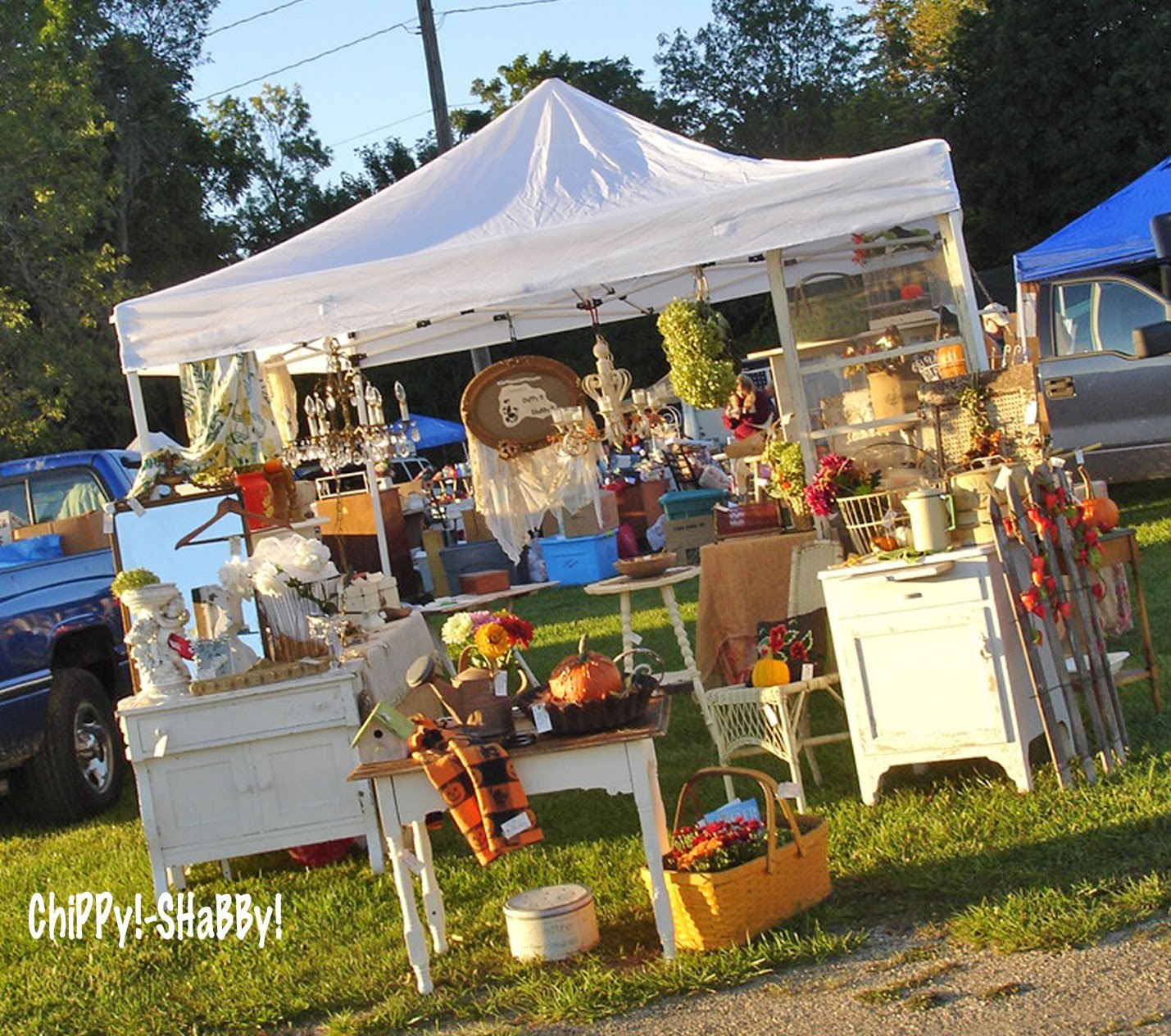 how to get a fleamarket booth
