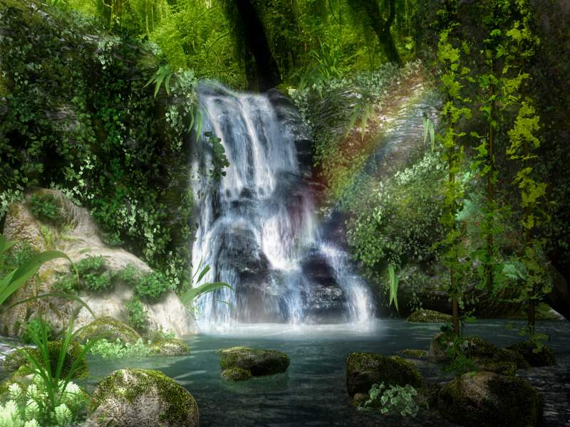 High Definition Wallpaper Waterfall