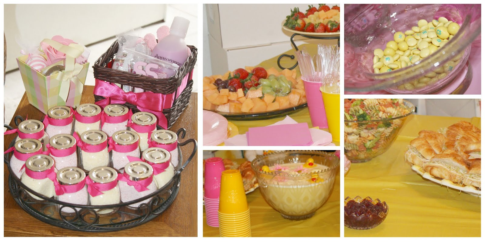 bayberry creek Crafter: Rubber Ducky Baby Girl Shower