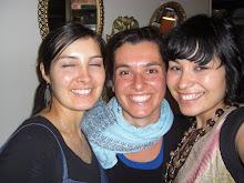Avec Diana et Nadia au boulot...session rigolage!