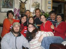 Chez Sato le boss avec toute la famille!