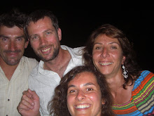 Fanch, Yvo, Val et moi