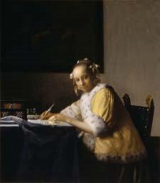 [Vermeers+A+Lady+Writing]