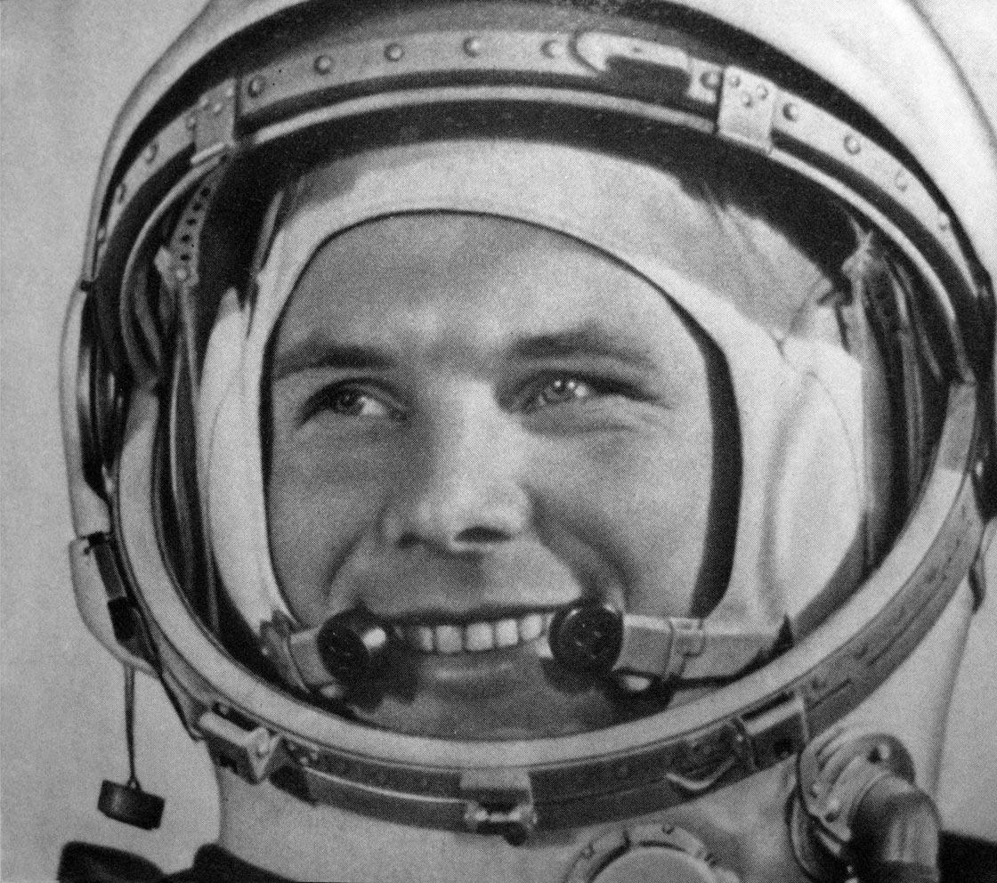 hace <50 años> el hombre llegaba al espacio