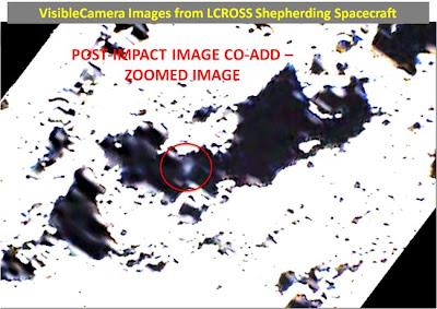 L-CROSS Centaur Impact Plume