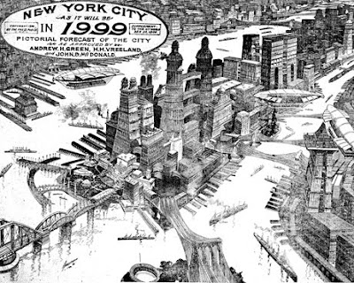 NYC in 1999, as imagined c. 1900