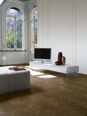 Masuta pentru televizor alb