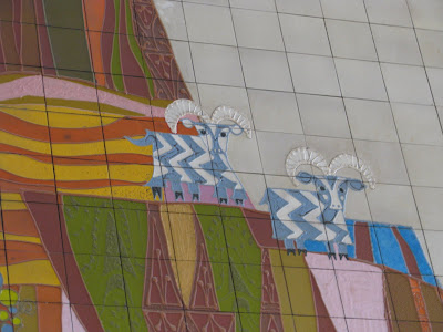 Disney world and the 5 legged goat disney world blog for Contemporary resort mural