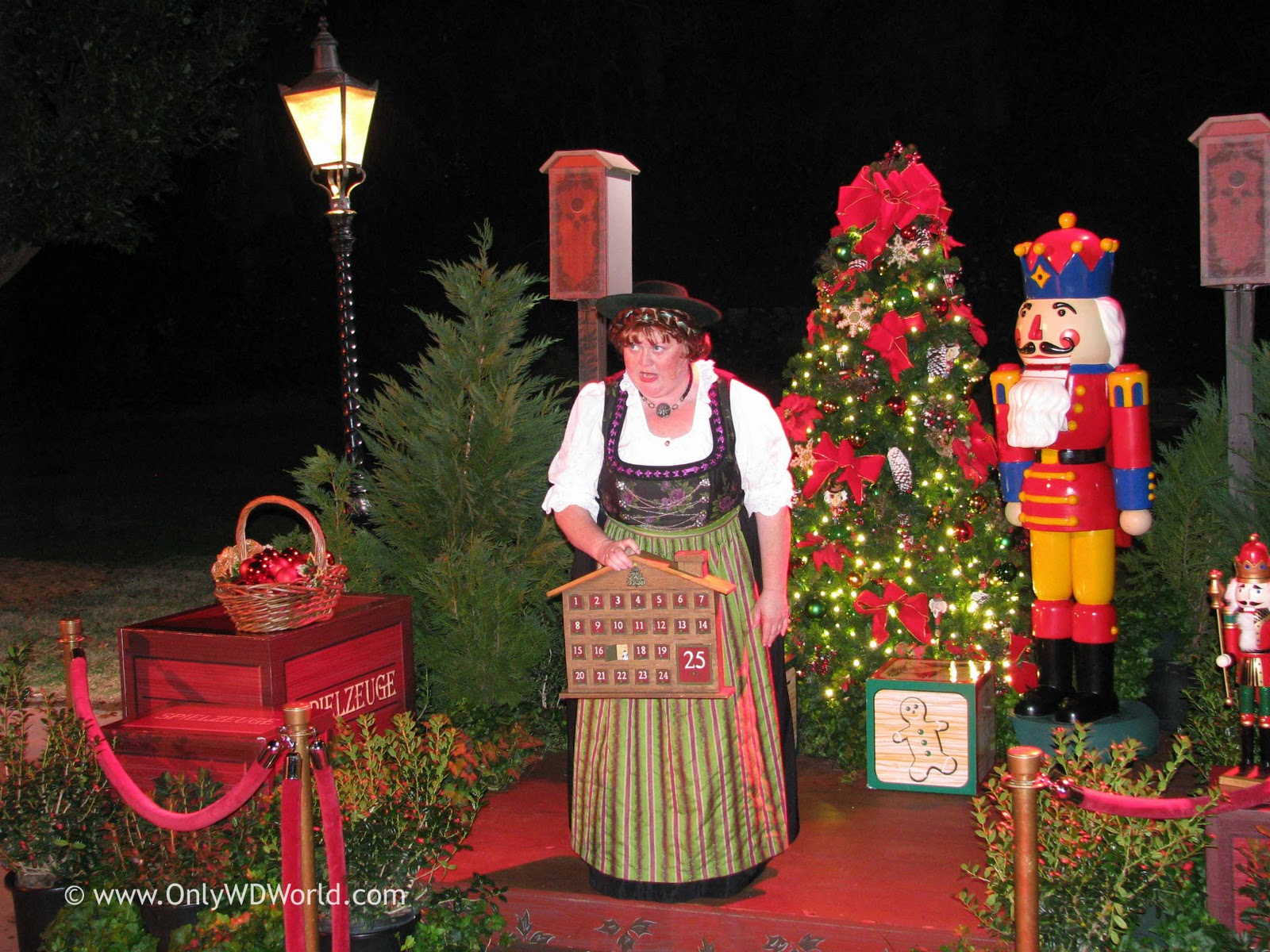 Epcot Holidays Around The World - The Storytellers Part II ...