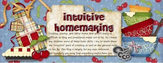 Intuitive Homemaking