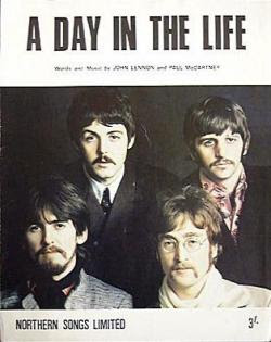 A Day in the Life by the Beatles is one of my all time favorite beatles songs because it drifts from a tragic day to an ordinary day which seems to mirror my life as a gay mormon boy.
