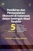 Pemikiran dan Permasalahan Ekonomi di Indonesia