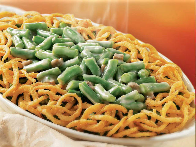 Healthy Tiger: GREEN BEAN CASSEROLE