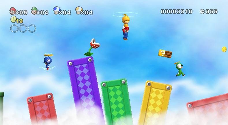 Juegos Mario Bros Wii New Super Mario Bros Wii el