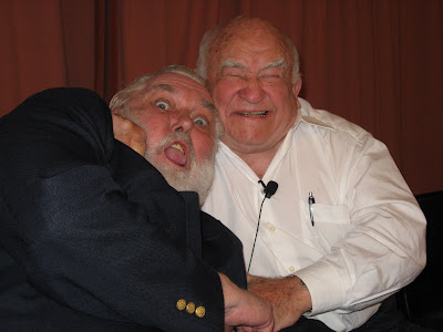 Ed Asner, Jim Brochu