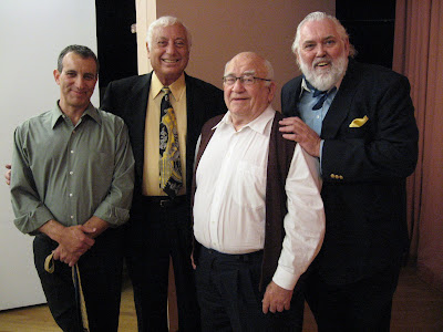 Actor, Herb Isaacs, Ed Asner, Jim Brochu