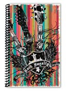 UK Rock Royalty Sketch Book
