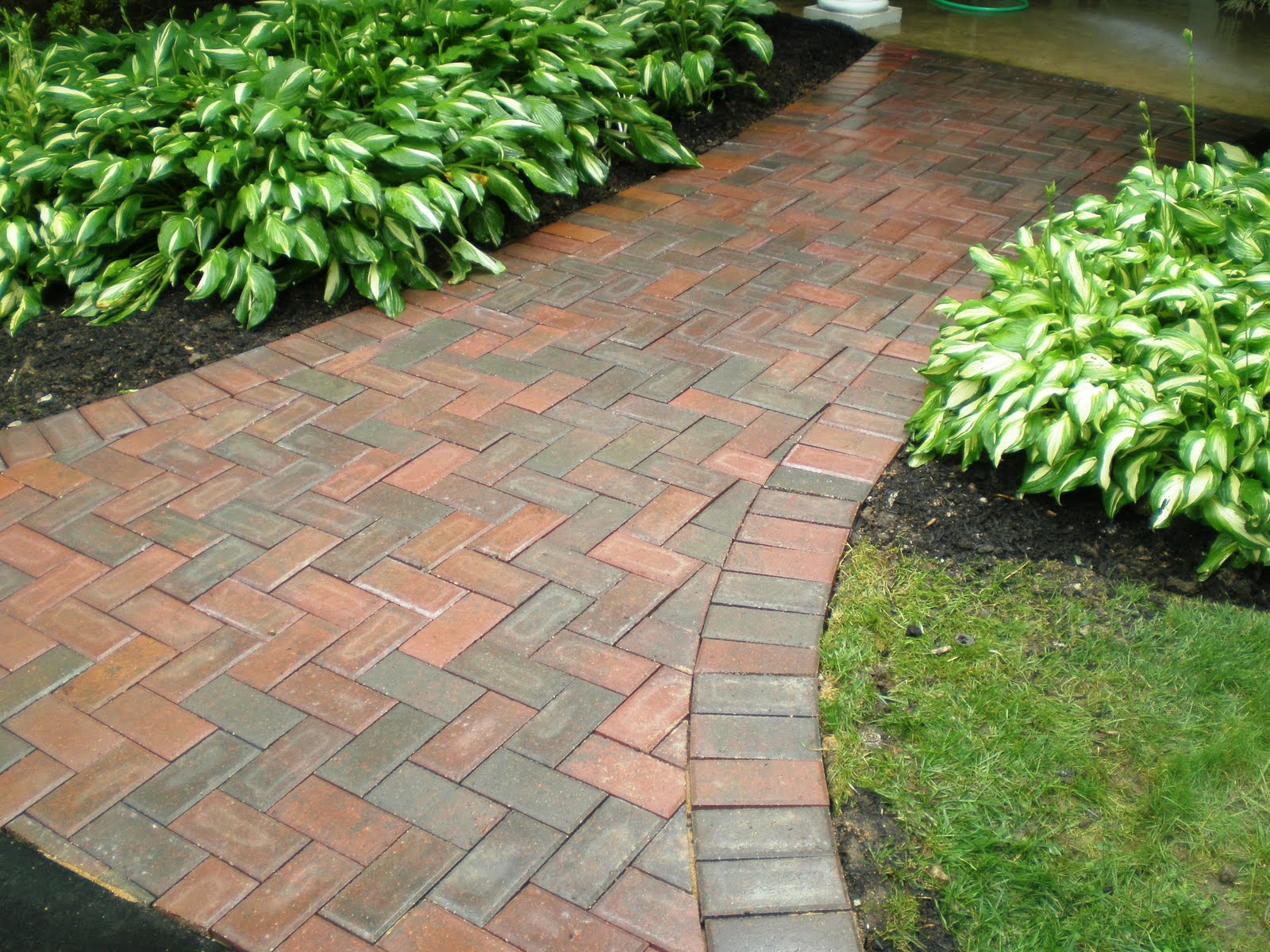Brick walkways car interior design for Landscaping bricks