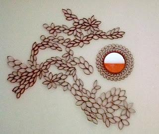 Homemade Mamas: DIY Toilet Paper roll wall decor
