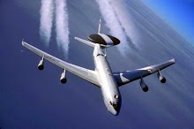 My husbands plane, AWACS E-3 Sentry
