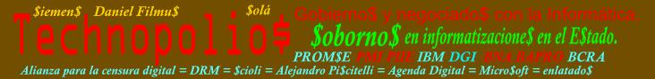 """Por un País Libre de """"funcionarios"""" y """"empresarios"""" Coimeros."""