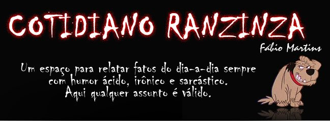Cotidiano Ranzinza