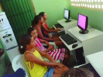 Aulas de Informática em 2010