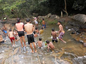 Ária de Lazer em cachoeira