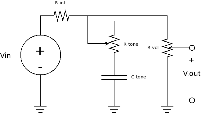 digital tone control with max5406 circuit schematic