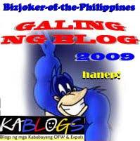 """""""2009 Galing ng Blog Mo"""""""