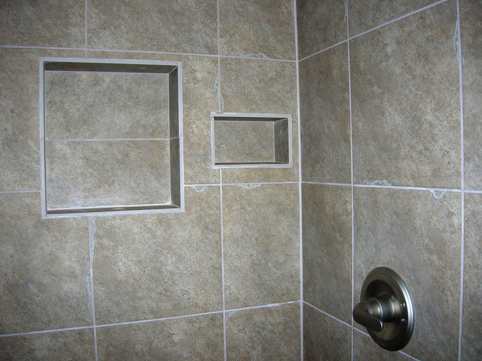 Walk in ceramic tile shower designs joy studio design for Ceramic tile patterns for bathroom floors