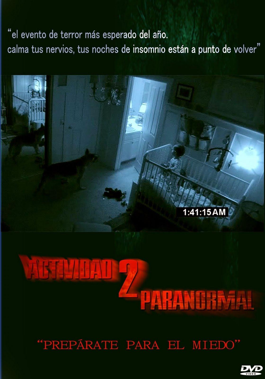 Actividad Paranormal 2   Custom por erere %255Bdvd%255D 80 ACTIVIDAD PARANORMAL 1 LINK ESPAÑOL LATINO