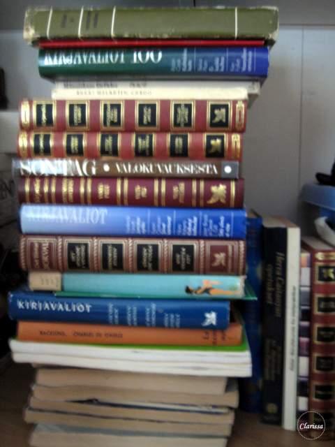 vanhojen kirjojen uusiokäyttö