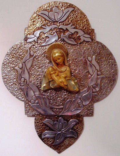 Cruz con la Virgen