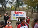Los alumnos y profesores de nuestro colegio mostramos muestro rechazo a la violencia de género.