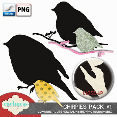 meet Chirpies- my first set of  Photoshop brush that are silhouettes Chirpies-pack1-preview