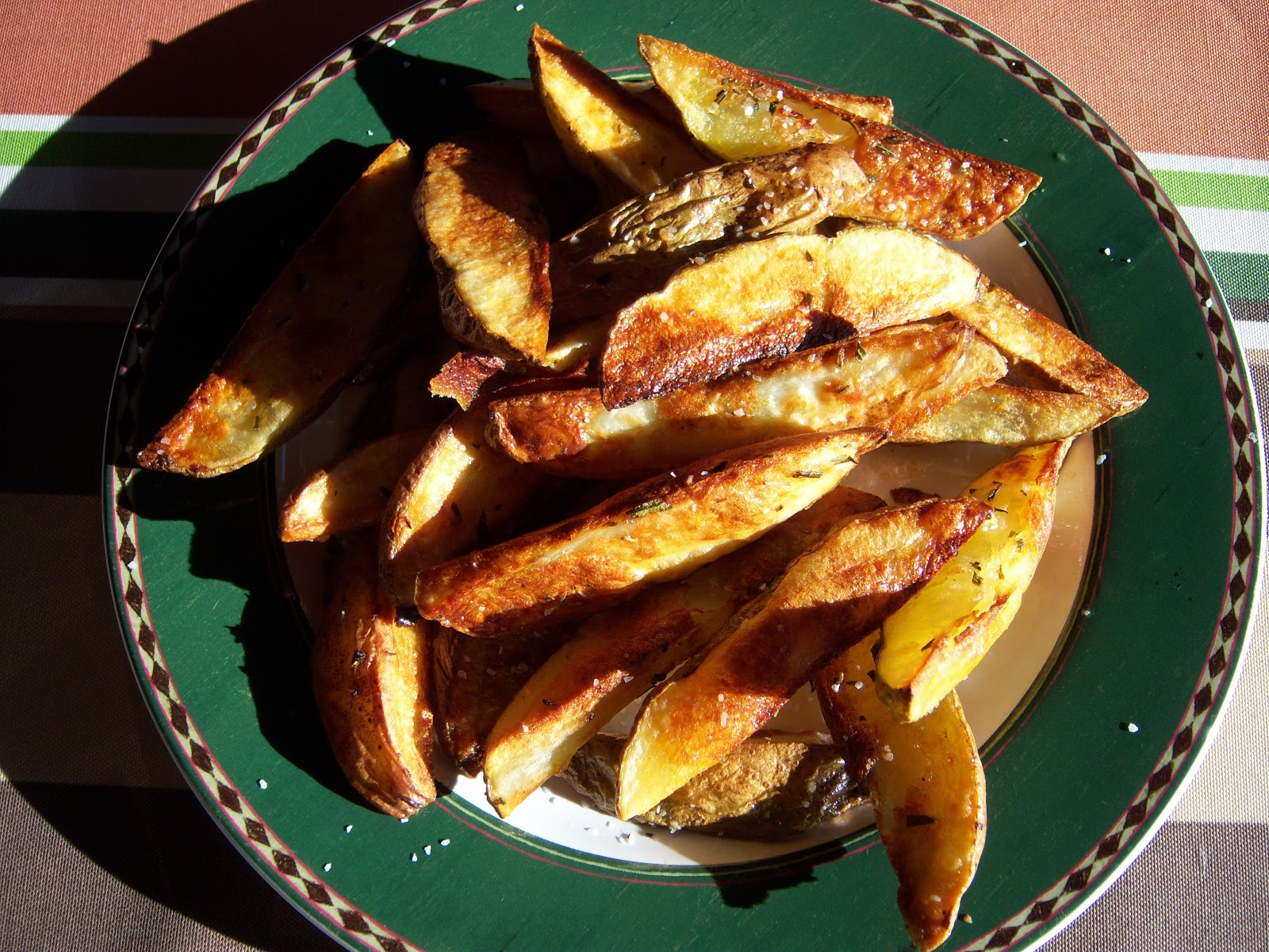 how to make french fries out of potatoes in oven