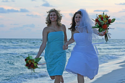 Destin Beach Weddings on Barefoot By The Sea In Destin Florida Llc  Seashells And Wedding Bells