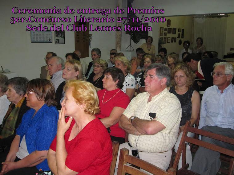 3er. CONCURSO LITERARIO
