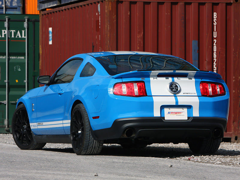 2010 Geiger Shelby GT500 Modifications