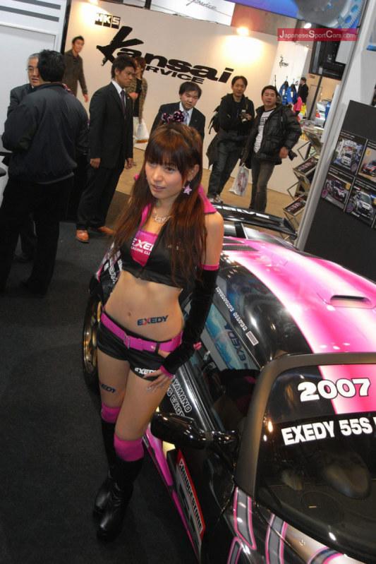 2008 Tokyo Auto Salon Model Wallpaper