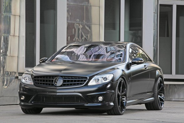 Gambar Modifikasi Mercedes-Benz CL 65 AMG Black Edition