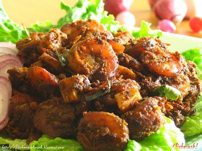 Chemmeen Varattiyathu-Prawn Roast