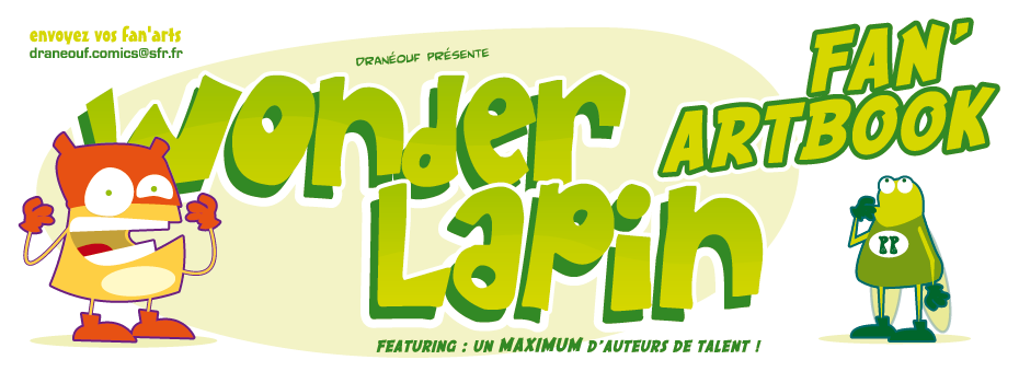 Wonder Lapin artbook