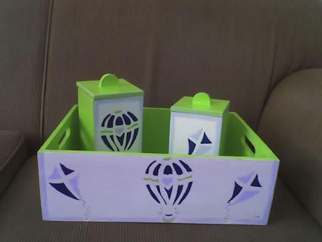 Aparador Rustico Mercado Livre ~ Suely Artes Kit de higiene