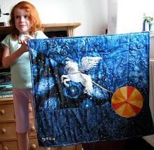 Ellie's Pegasus quilt
