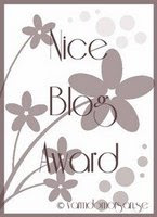 Nice Blog Award